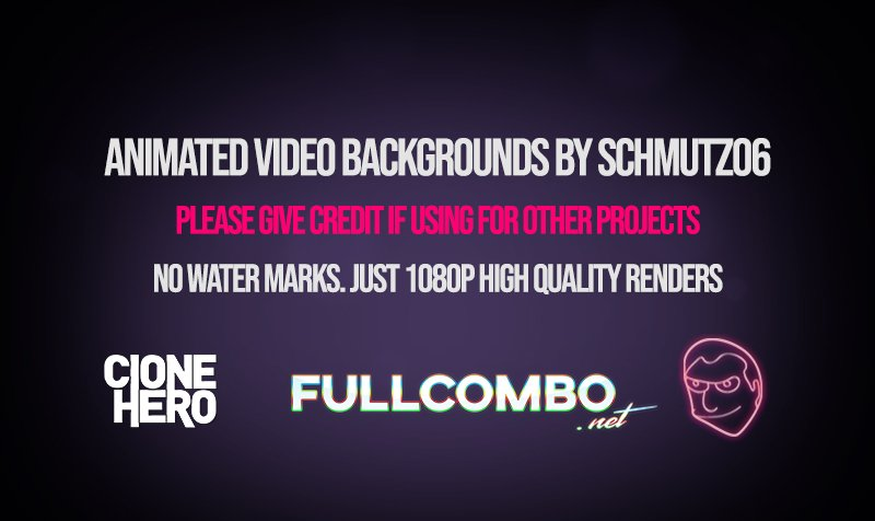 Animated Clone Hero Video Backgrounds by Schmutz06